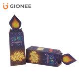 Impresión de empaquetado plegable modificada para requisitos particulares del rectángulo del regalo de la tarjeta de papel