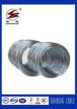 Força de alta elasticidade fio de aço galvanizado