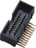 1.27*2.54 H=10.5, 180 degrés d'IMMERSION de cadre de connecteur d'en-tête