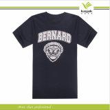 Camisas impressas de Customzied algodão barato por atacado T (KY-T016007)