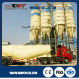 세 배 Axle 60 Cbm 50ton Bulk Cement Power Material Cargo Tanker Transport Semi Trailer
