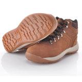 Zapatos de seguridad de cuero de Nubuck del nuevo diseño con el casquillo M-8346 de la punta