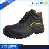 黒いSbpの綿のLinningの冬の安全靴Ufa020