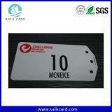 Cartão grande do PVC da forma irregular do disconto com tamanho feito sob encomenda