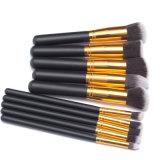 10PCS Two Color Professional Makeup Brush Set