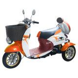 triciclo eléctrico de 500W 48V con la cesta delantera y el tronco trasero (TC-014)