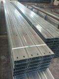 C 채널 단면도 Steel/U 광속 채널 강철 또는 강철 C 도리