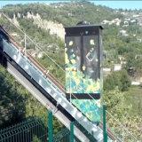 Ascenseur incliné d'observation neuve originale allemande de fantaisie de tourisme