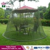 Casa ajustada da tela do pátio do dossel da rede de mosquito do guarda-chuva