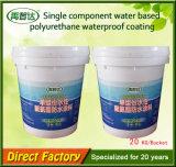 Het enige Polyurethaan die Op basis van water van de Component Vloeibare RubberDeklaag waterdicht maken