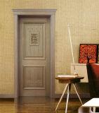 Festes Holz-Tür, feuern hölzerne Nenntür mit 30/60/90/120 Minute-Schwerpunktshandbuch Trada ab