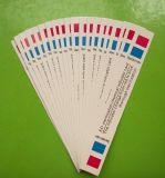 مصل دمّ تعليم كيميائيّة مؤشّر شريط/بطاقة