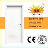 Portas do MDF do escritório interior branco econômico únicas (SC-P066)