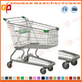 Niedriger Preis-Supermarkt-Euroart-Einkaufen-Laufkatze (ZHt242)