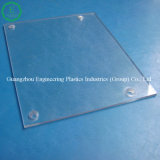 Feuille en plastique transparente de PC