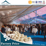 All EventsおよびOccasionsのための500か1000年のPeople Ideal Outdoor Large Clear PVC Fabric Covered Marquee Transparent Tent