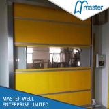 PVC-materielles schnelles Hochgeschwindigkeitsrollen-industrielle Tür