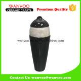 Schwarzer keramischer Blumen-Vasen-Fußboden-Vasen-Wand-Vase verschiedene Arten