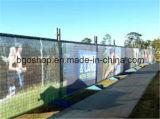 PVC網の旗のキャンバスPVCフィルムの塀(1000X1000 12X12 370g)