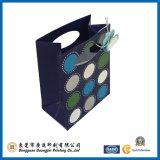 Unterschiedliches Farben-Geschenk-Papierbeutel mit gestempelschnittenem Griff (GJ-Bag001)