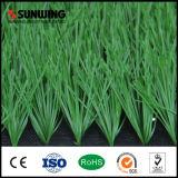 Hierba artificial sintetizada del verde de interior del campo de fútbol para la venta