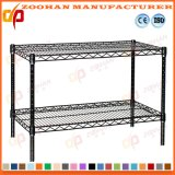 Chrome Office Kitchen Ikea Storage Stand Wall Wire Shelving (Zhw151)