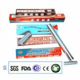 Крен алюминиевой фольги длины сплава 8011-0 0.015X100mm 150m для домочадца