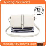 カラー対照様式(BDM018)の女性の方法ハンドバッグ