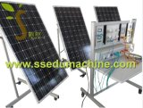 Equipamento de ensino Photovoltaic educacional do equipamento de treinamento da conexão da grade do sistema
