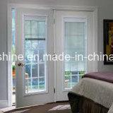 Моторизованные алюминиевые Venetian шторки между двойным полым Tempered стеклом