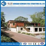 Villa veloce prefabbricata di lusso della struttura d'acciaio dell'indicatore luminoso della costruzione del rifornimento della Cina
