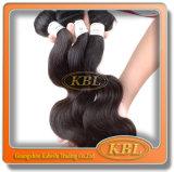 Неповрежденные малайзийские человеческие волосы с объемной волной