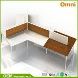 Escritorio de moda de los muebles de oficinas del estilo de madera