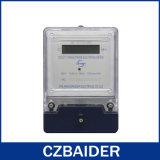 Mètre électronique à deux fils monophasé de panneau transparent (DDS2111)