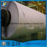 Das gerundete Seidenpapier, das Maschine mit der Masse bildet Zeile von herstellt, bereiten Materialien auf