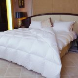 Luz y Warm White Goose Down Comforter