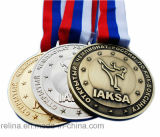 Different personalizzato Plating Running Winning Event Awards Medal con Ribbon