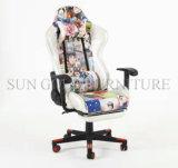 Cadeira de competência de couro do jogo da cadeira da forma do modelo novo (SZ-OCR007)
