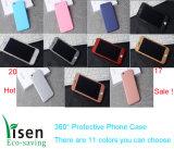 2017 caja protectora del teléfono de la promoción de venta 360 calientes para el iPhone