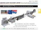 突き出るカスタマイズされた編みこみの補強された圧力管のプラスチック機械装置を作る