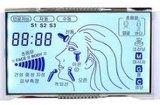 否定的な18のディジットが付いているStn白黒LCDの表示