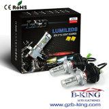 新しいLEDフィリップスHi/Lo H4 6000lm車LEDのヘッドライトの球根