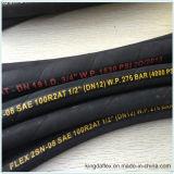 Qualität SAE100 R1at /1sn SAE100 hydraulischer Gummischlauch R2at/2sn