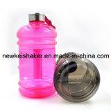 Новая гимнастика Multicolors трасучки бутылки протеина резвится бутылки воды 2.2L