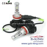 lampadine basse del fascio del kit H11 del faro di 6000lm 25W 6000k Philips LED