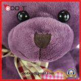 Urso personalizado da peluche do Valentim da venda de urso da peluche do urso da peluche