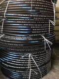 Le boyau extensible flexible s'est développé en spirales boyau en caoutchouc à haute pression renforcé de boyau hydraulique de boyau de fil d'acier