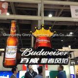 Coke de pared y caja de luz LED de cerveza para pantalla