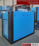 Compressor giratório do parafuso dos rotores da maneira dois refrigerar de ar