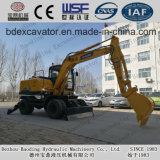 Miniexkavatorenbaoding-Rad-Exkavator Bd80, Bd95 für Verkauf auf Lager